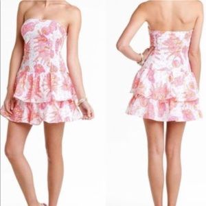 """Lilly Pulitzer Dress """"Conched Out"""" Seersucker"""